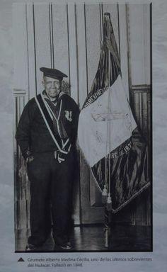 Alberto Medina, sobreviviente de Angamos.