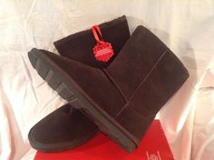 Brown Suede Sheepskin Sonoma 11M Boots(NWB) #Sonoma #FashionMidCalf