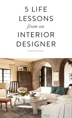 5 important life lessons from an interior designer