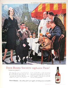 Four Roses Whiskey by Jean Arf, via Flickr