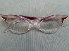 Horn rimmed glasses...awesomeness and purpleness...could this day GET any better!