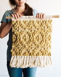 Materials Kit: New Pibione Wall Weaving Colorways – The Crafter's Box – Christina Smith – weberei Carpet Diy, Woven Wall Hanging, Diy Interior, Chunky Yarn, Tapestry Weaving, Cotton Rope, Weaving Techniques, Hand Weaving, Creations