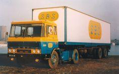 DAF 2600  BS-26-48 SBS met 2 asser trailer.