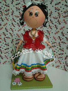 tejas y manualidades de pepi: MEXICANA