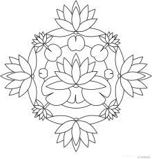 Flower Mandalas ,also mosaic pattern