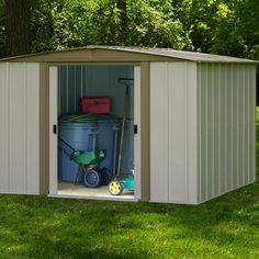 arrow storage shed