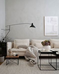 Home Interior Art .Home Interior Art Ikea Living Room, Design Living Room, Living Room Colors, Home Living, Modern Living, Natural Home Decor, Unique Home Decor, Söderhamn Sofa, Couches