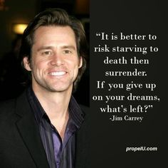 Jim Carrey was this serious about achieving his dreams and goals. How about you? #PersonalDevelopment #SelfImprovement #Success #Entrepreneur