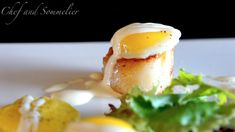 Chef and Sommelier: Scallops with Sweetcorn Puree and Quail's Eggs