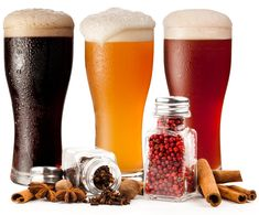 Spice up your life with a spiced up beer. Some common and not so common spices to try infusing you craft brew beers with. Brewing Recipes, Homebrew Recipes, Beer Recipes, All Beer, Wine And Beer, Best Beer, Home Brewery, Home Brewing Beer, Bares Y Pubs