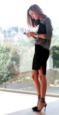 Black pencil skirt - Your own fashion