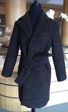 Janet Deleuse Couture Wool Coat