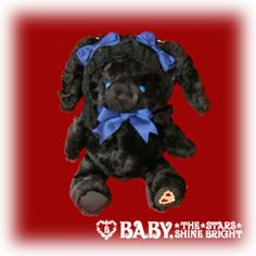 Baby the Stars Shine Bright Usakumya Pochette Bag in black