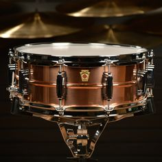 Ludwig 5x14 Copper Snare Drum w/Imperial Lugs With close to 100 years' experience building copper timpani, the newest member to the Ludwig USA snare drum range is the Copper Phonic snare drum. Featuri