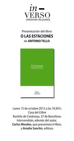 CANAL DE POESÍA DE A.T.: O LAS ESTACIONES