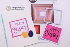 Hamarosan itt a Húsvét!  Vidám üdvözlőlapokat egyszerűen és nagyon gyorsan készítettünk,  az új Sizzix vágósablonokkal.  Tartsatok velem! Happy Easter, Scrapbook, Diy, Happy Easter Day, Bricolage, Diys, Handyman Projects, Do It Yourself, Scrapbooks