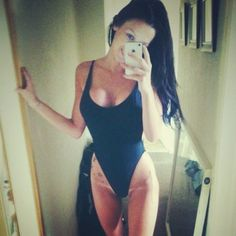 Jennifer Ann #selfie #swimsuit #leotard