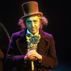 Gene Wilder as Willy Wonka RIP to an incredible performer, dreamer and the cause of so much imagination