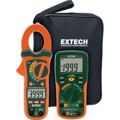 Electrical Test Kit with True RMS AC/DC Clamp Meter