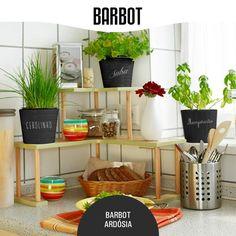 Se gosta de ervas aromáticas, use Barbot Ardósia para identificar de forma fácil e rápida a planta que cada vaso contém :) www.barbot.pt