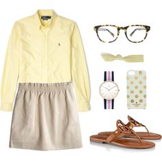 Jcrew skirt || Cistercian || Yearbook Camp 2014