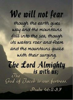 The LORD GOD is with us.