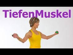 15 min. Tiefenmuskulatur - Training mit Gabi - YouTube