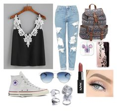 """""""🎧"""" by kenzie4ever11 on Polyvore featuring Topshop, Converse, Aéropostale, Casetify and Christian Dior"""