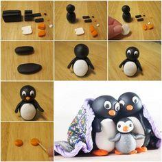 Rodzinka pingwinka