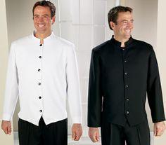 Restaurant Uniforms Mandarin Collar Waiter Jacket