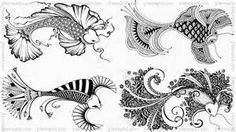 henna fish - ideas for pisces tattoo