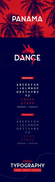 Panama Font 2015 By Adrien Coquet