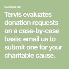 Tervis evaluates donation requests on a case-by-case basis; email us to submit one for your charitable cause. Silent Auction Donations, Nonprofit Fundraising, Fundraising Ideas, Donation Request, Raffle Baskets, Charitable Donations, Relay For Life, Show Me The Money, School Fundraisers