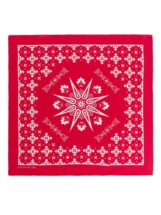 Crafted from a crêpe de chine fabric made of premium mulberry silk, this square-cut scarf features a printed pattern. Size 50 x 50 cm Women > Bags & accessories > Scarves Red Bags, Ethical Clothing, Mulberry Silk, Silk Scarves, Bag Accessories, Tapestry, Printed Silk, Fabric, Prints
