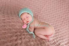 Crochet Baby Bonnet Newborn Bonnet Crochet by SweetLittleMelody