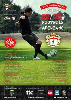 3 tappa Nazionale #Footgolf Italia ad Arenzano (Ge) domenica 2 marzo 2014