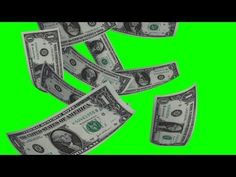 Doller Rain on green screen - free green screen - free use Green Screen Video Backgrounds, Youtube Banner Backgrounds, Youtube Banners, Green Backgrounds, Birthday Banner Background, Meme Background, Black Background Images, Chroma Key, First Youtube Video Ideas