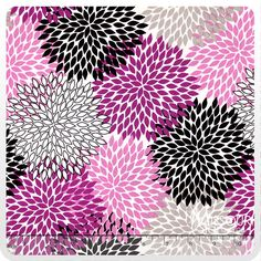 Andrea Victoria - Flowers Fuschia Yardage from Missouri Star Quilt Co