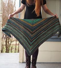 Ravelry: Simple Shawl pattern by Vanessa Ewing