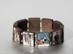I would totally wear this! Love the natural, wood background and personalize option!