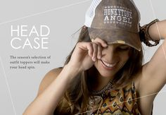 Head Case: Collection of Hats at Buckle.com