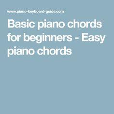 how to play keyboard basics
