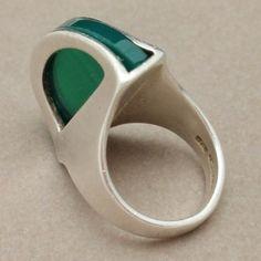 Modernist Sterling Silver Ring, Israel