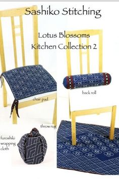 Lotus Blossom Kitchen Collection 2 pattern $13.50