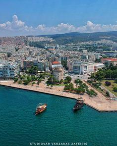 Συνέχεια της προηγούμενης ανάρτησης και κόντρα στην εποχή των ωραίων παραλιών θα συνεχίσω με την εικόνα που παρουσιάζει η πολη μας… Thessaloniki, Macedonia, Greece, Places To Visit, Country, Water, Travel, Outdoor, Memories