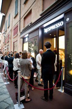 INAUGURAZIONE NESPRESSO @ Bologna Launch Party, Bologna, Nespresso, Product Launch, Street View, Events