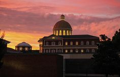 Christopher Newport University At Sunset by Olahs Photography