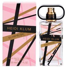 Heidi Klum Surprise Eau de Toilette para mulheres | fapex.pt Heidi Klum, Design Thinking, Perfume Bottles, Graphic Design, Beauty, Women, Eau De Toilette, Spray Bottle, Beleza