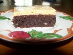 Ginny's Low Carb Kitchen: Brownies With Peanut Butter Frosting