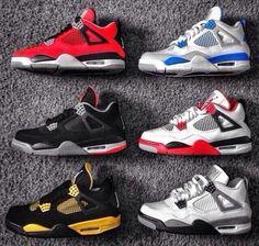 Retro 4s #Jordans #Swag
